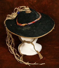 Korean Musician's Hat of Pig's Hair, Nongak Pungmul
