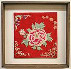 Embroidered Bojagi with an Abundance of Flowers