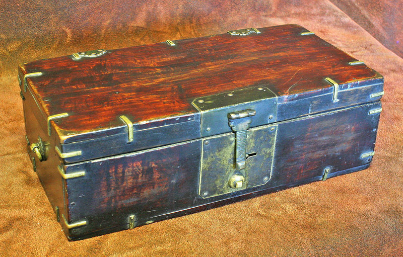 Very Fine and Rare Korean Scholar's Document Box