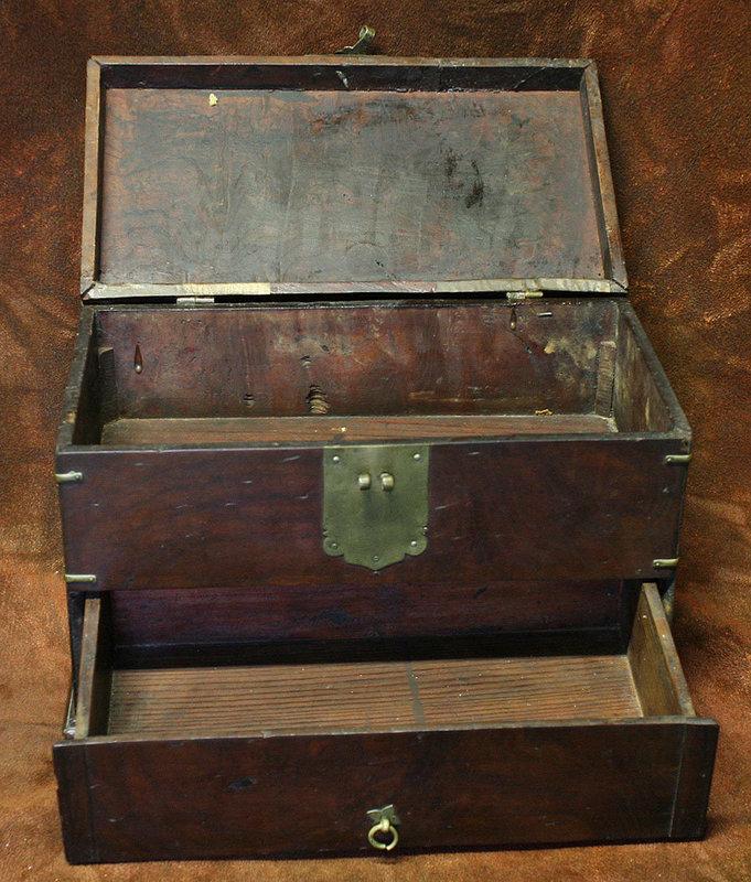 Elegant and Rare Type of Korean Scholar's Document Box