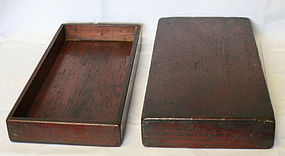 Rare and Highly Collectible Small Wood Document Box