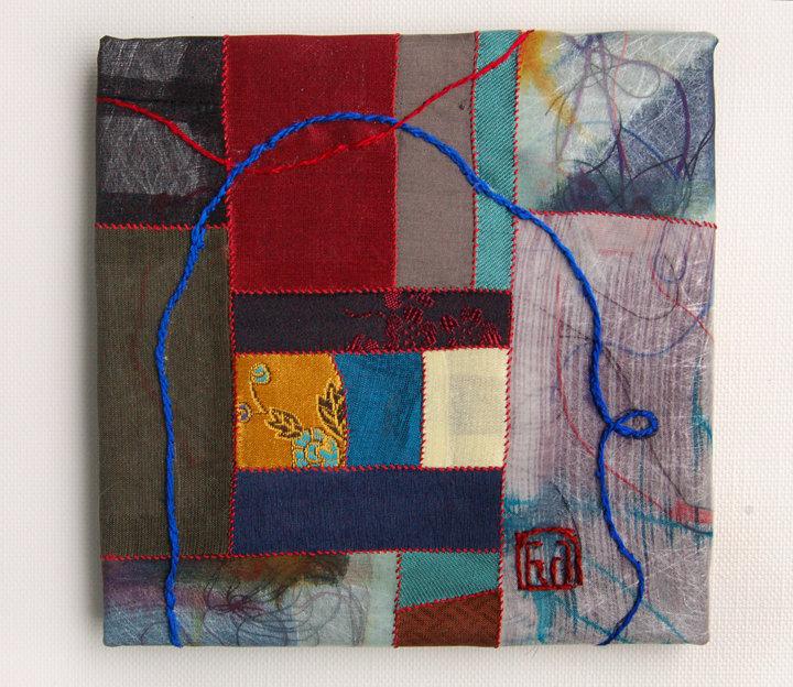 Korean Contemporary Bojagi Textile by Won Ju Seo