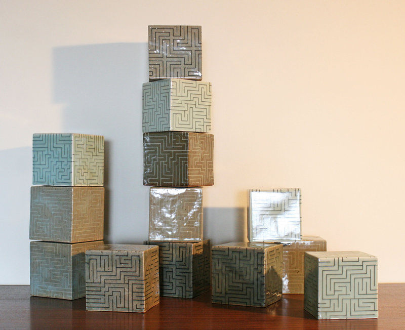 Ensemble of The Many Shades of Celadon by Joo Ji Wan