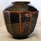 Fine Example of an Antique Korean Honey Jar with Beautiful, Rich Color