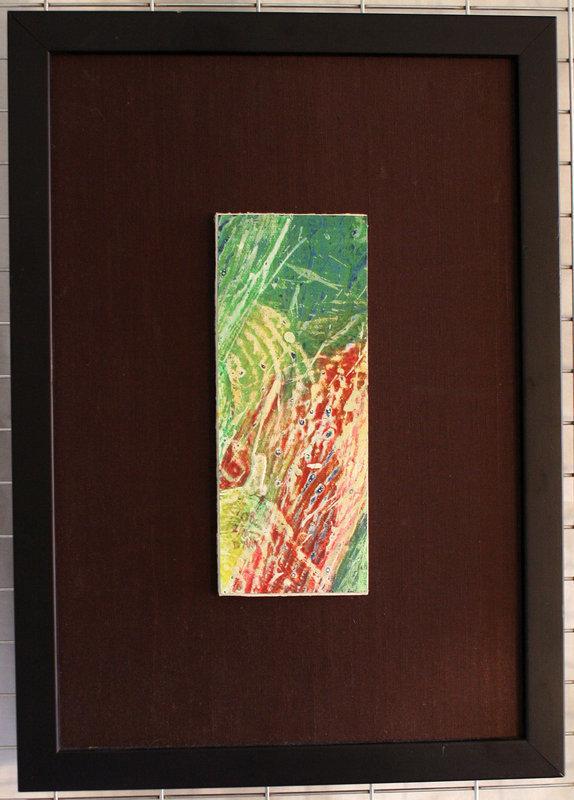 Ocean Dragon by Pioneering and Renowned Korean Painter Don Ahn