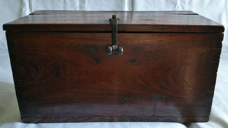 Old Rustic Korean Coin Chest (Donkwe)