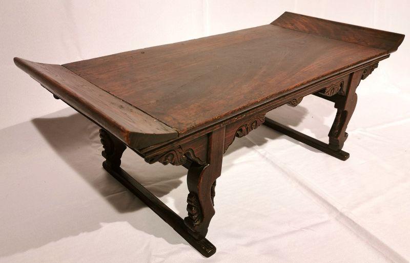 Rare 19th Century Korean Buddhist Scholar's Study Desk (Gyeongsang)