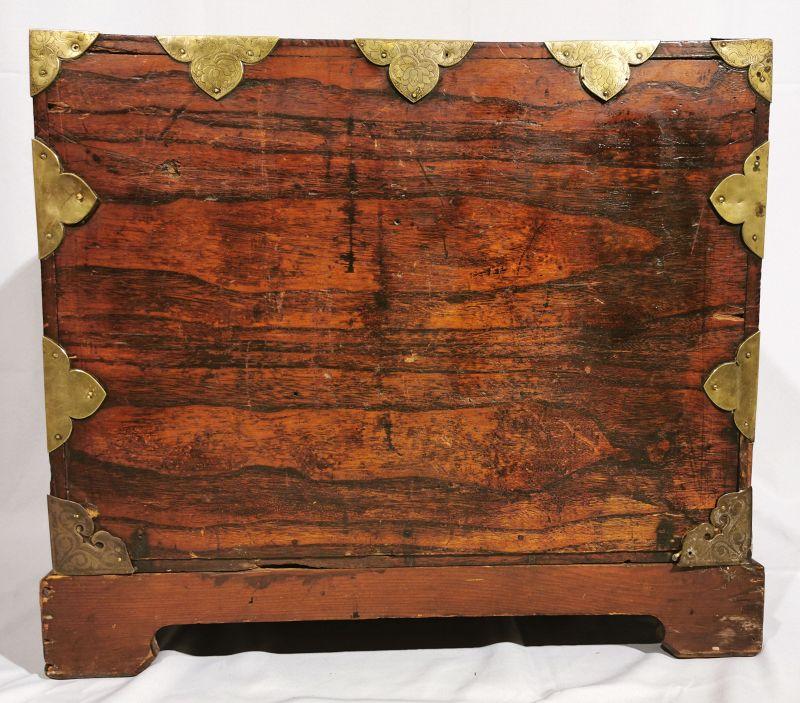 Beautiful Korean Antique Wood Safe with Fine Grain