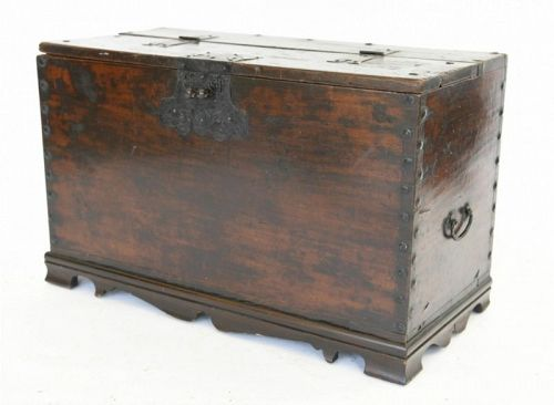 Antique Korean Coin Chest, Donkwe