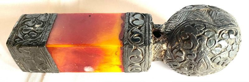 Antique Stone and Metal Chinese Seal Chop