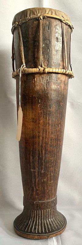 Antique Timor Message Drum from a Published and Renowned Collection