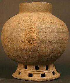 5th Century Korean Silla Kingdom Jar, Excellent Example