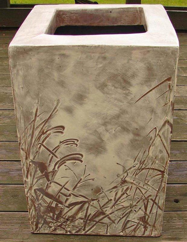 Large Buncheong Vase by Yoon Ja Eui