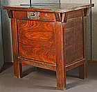 Fine Antique Korean Rice Chest of Zelkova and Pine