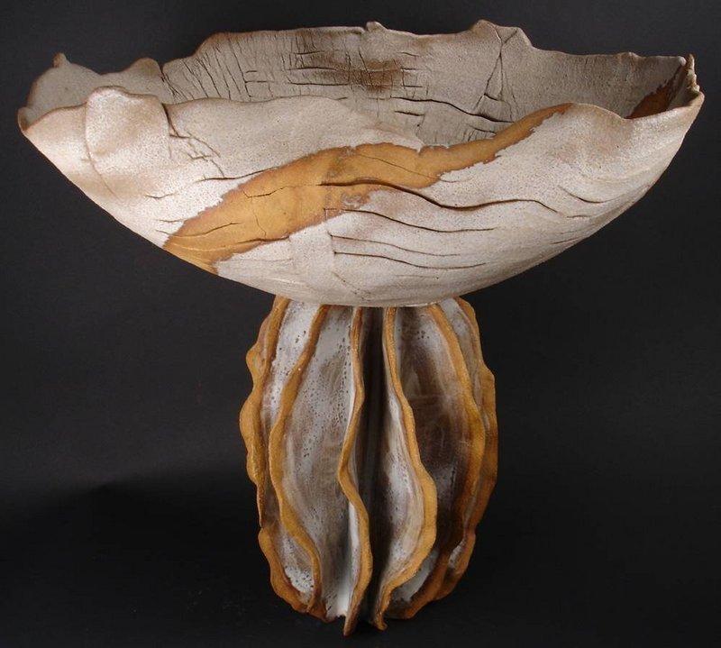 Kang Jong Sook, Large Korean Ceramic Sculpture