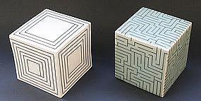 Joo Ji Wan Celadon and Porcelain Duo
