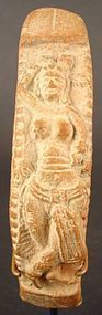 Ancient Indian Terracotta Plaque, 3rd Cent. BC, Mauryan