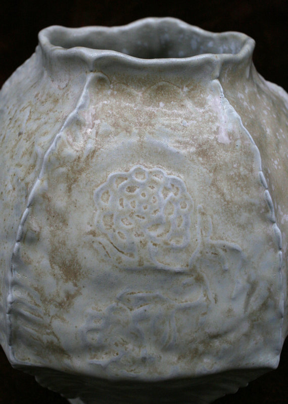 White Celadon Jar Number Two by Kim Young Mi