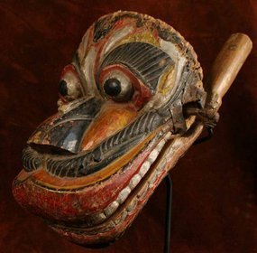 Sri Lanka Monkey Mask for Fetus Protection Ritual Drama