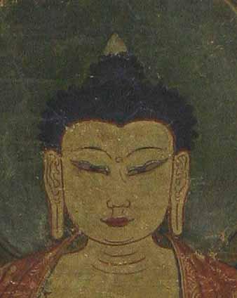 17th Century Bhaisajyaguru Thangka
