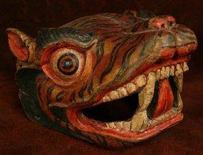 Tibetan Tiger Mask