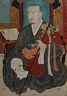 19th Century Monk Portrait of Donghwadang Youngo
