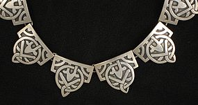Victoria Taxco Sterling Silver Necklace