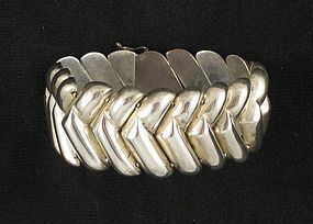 Modernist Sterling Bracelet by Bayanihan
