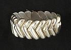 Modernist Sterling Bracelet by Bayanihan