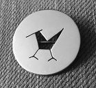 Betty Cooke Sterling Modernist Pin