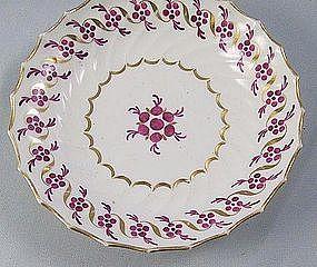 Chamberlain's Worcester English Porcelain Tea Saucer