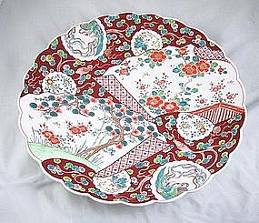 Imari Charger Meiji/taisho Period