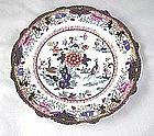 Mason's Ironstone Muscovy Duck Plate Ca. 1830
