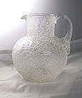 Sandwich Glass Overshot Pitcher Ca. 1845
