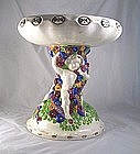 Julius Dressler Powolny Style Majolica Tazza Ca.1914