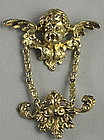 William Kerr Art Nouveau Watch Pin Vermeil
