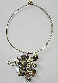Richard Bitterman Industrialist Scrap Metal Necklace