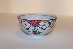 Chinese Export Enamel Porcelain Small Tea  Bowl