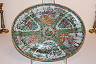 19th C. Chinese Mandarin Porcelain Platter