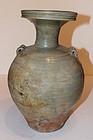 Chinese Glazed Pottery Celadon Urn