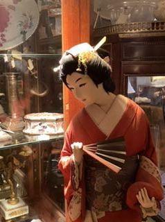 Japanese Geisha figure 1930s