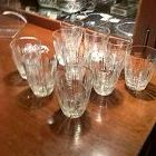 1920s Baccarat Whiskey Crystal Tumblers set of 10