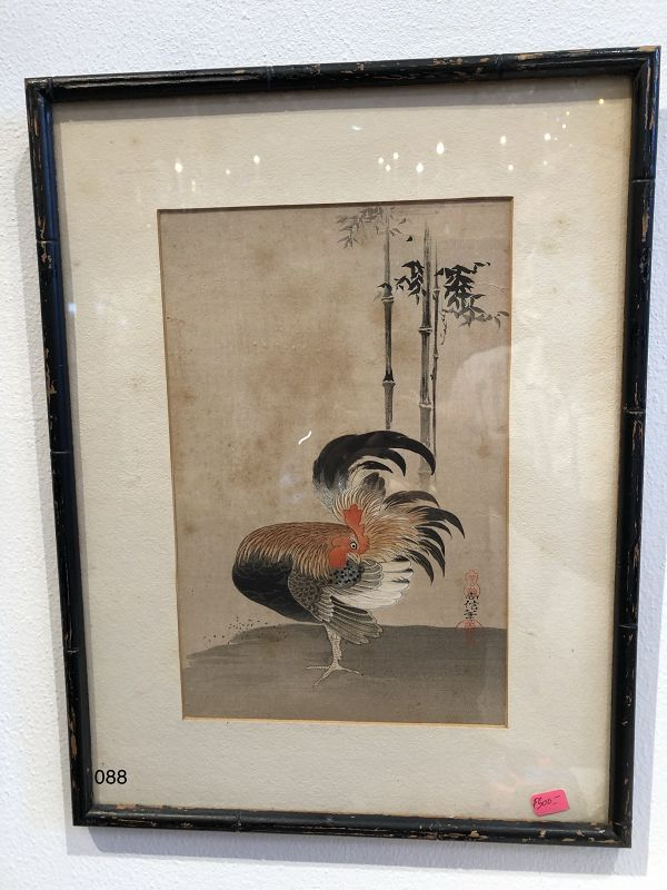 Japanese Rooster Print