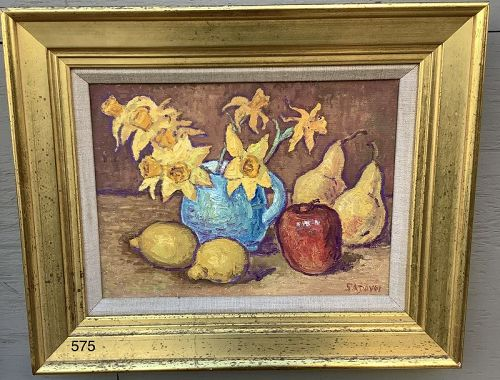 SADOVOI signed Still Life with Fruit