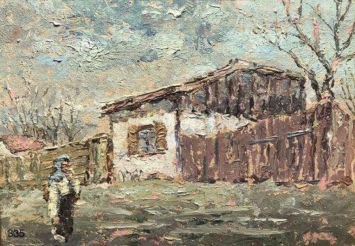 Ukranian Winter Landscape