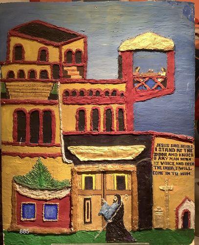 Outsider artist Julien Lucien Crump,Philadelphia 1934-2006