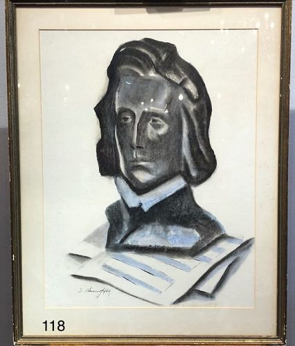 Cubist Bust Portrait