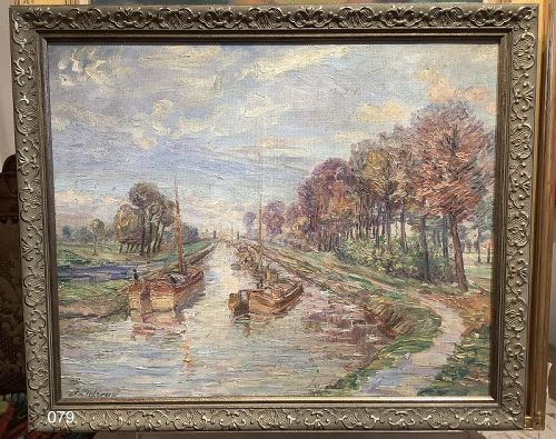 French Canal Scene