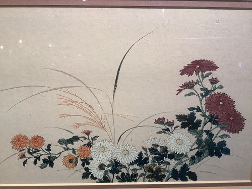Japanese Floral Study