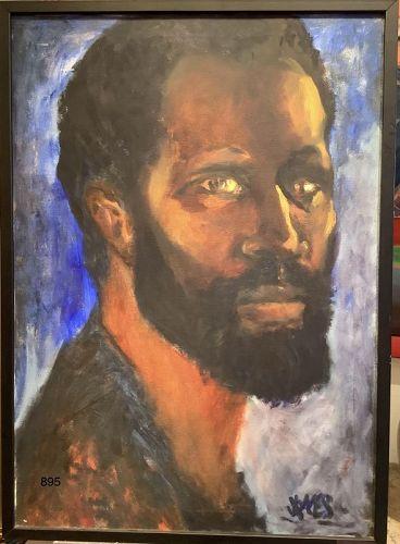 J. James Self Portrait